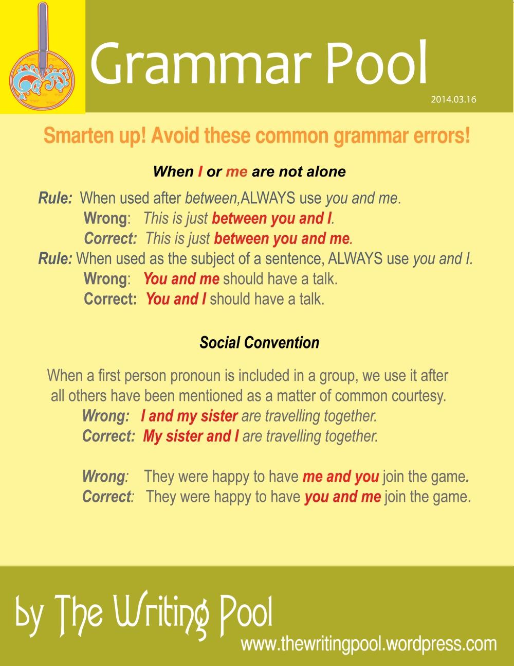 Grammar Pool 20140316