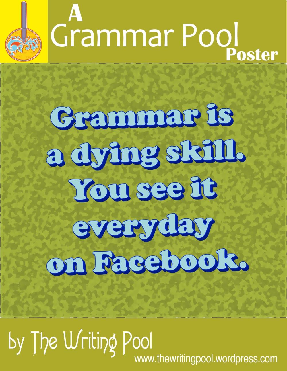 Grammar Pool Poster 1401